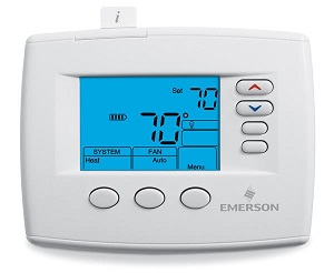 "White-Rodgers® 1FB83-0471 Emerson™ Blue 4"" Non-programmable Thermostat"