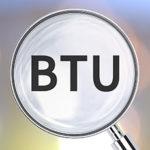 BTU sign
