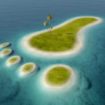 Carbon footprint island
