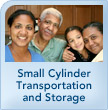 Small Cylinder Transportation and Storage